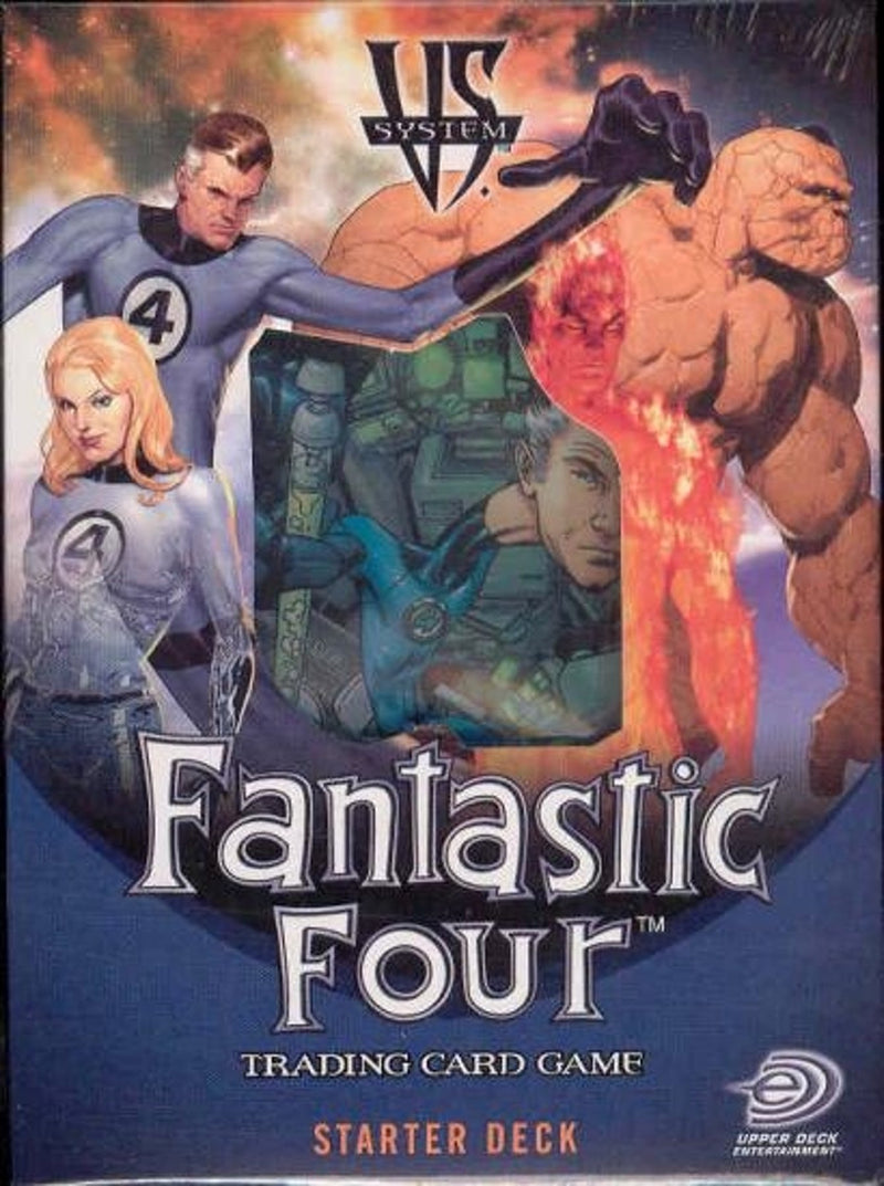 Upper Deck Vs System Marvel Fantastic Four 2-Player Starter Deck - BigBoi Cards