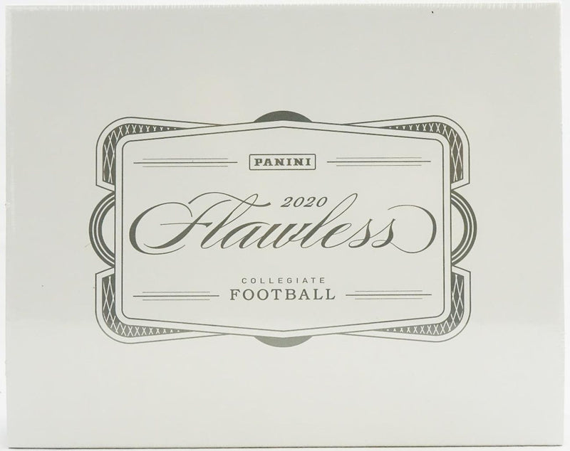 2020 Panini Flawless Collegiate Football Hobby Box - BigBoi Cards