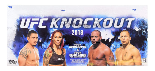 2018 Topps UFC Knockout Hobby Box - BigBoi Cards