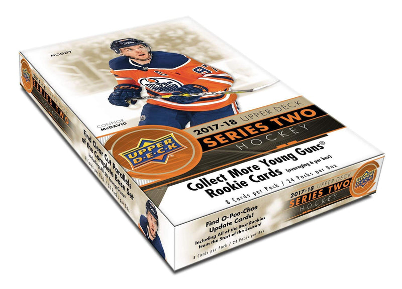 2017-18 Upper Deck Series 2 Hockey Hobby Case (Boxes of 12) - BigBoi Cards