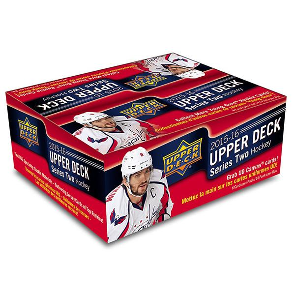 2015-16 Upper Deck Series 2 NHL Hockey Retail Case (Boxes of 20) - BigBoi Cards