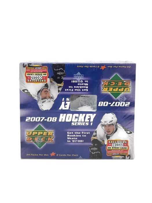 2007-08 Upper Deck Series 1 Hockey Retail Box - BigBoi Cards