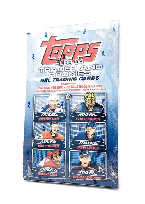 2003-04 Topps Traded & Rookies Hockey Hobby