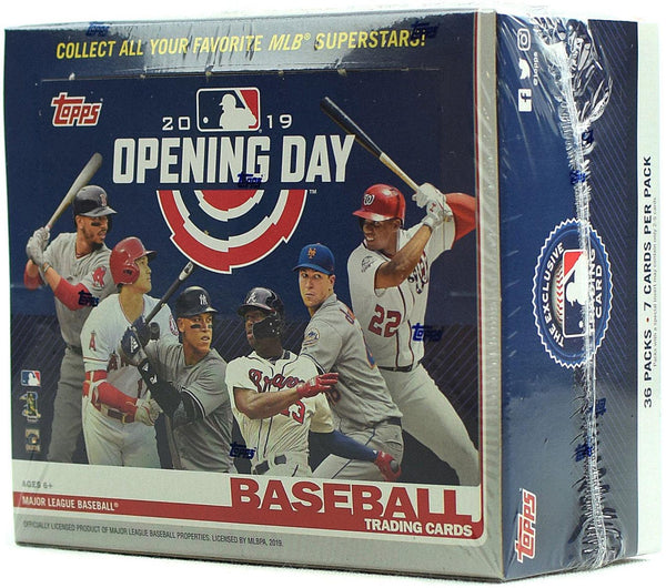 2019 Topps Opening Day MLB Baseball Hobby Box - BigBoi Cards