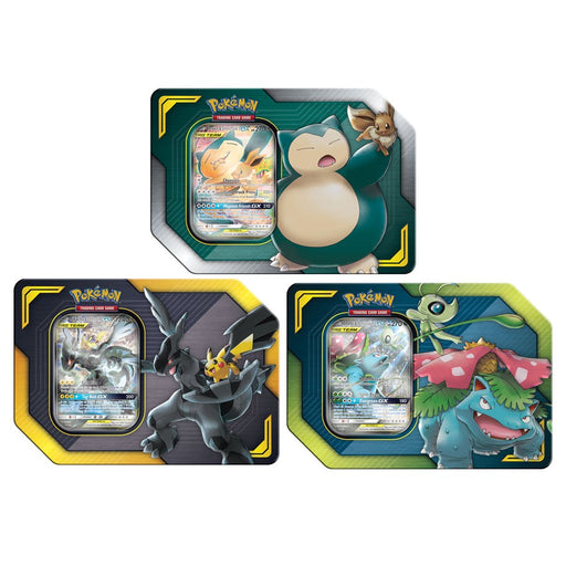 Pokémon TCG: Spring 2019 Tag Team Tin - Quecan Distribution
