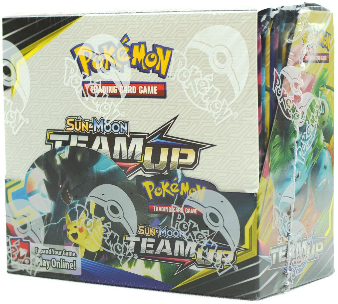 Pokémon TCG: Sun & Moon (SM9) Team Up Booster Box - Quecan Distribution