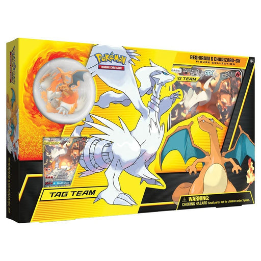 Pokémon TCG Reshiram & Charizard-GX Figure Collection Box - Quecan Distribution