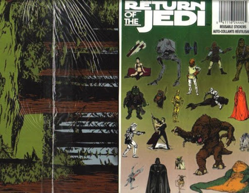 Topps Star Wars Return of the Jedi Reusable Stickers - Lot of 3 - BigBoi Cards