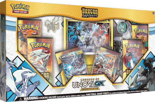 Pokémon TCG: Dragon Majesty Legends Of Unova Gx Premium Collection Box