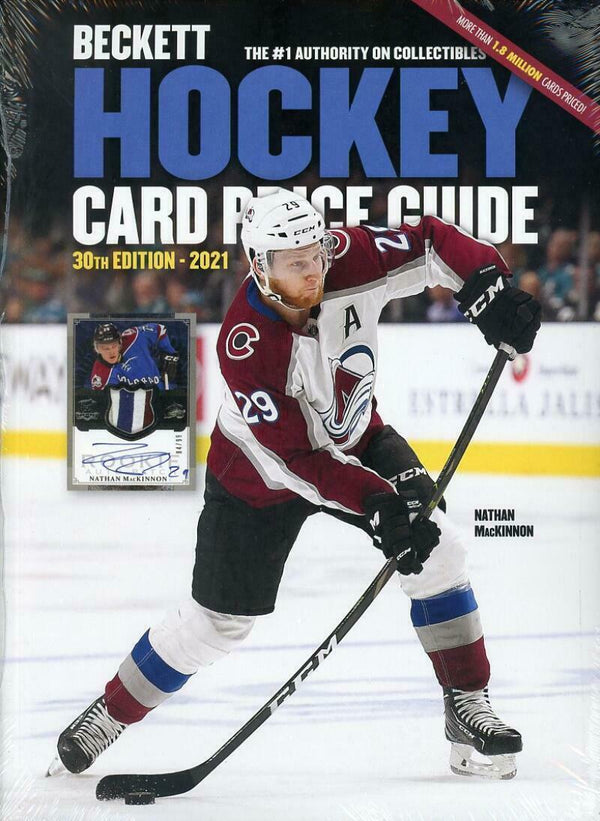 2021 Beckett Hockey Card Annual Price Guide 30th Edition Nathan McKinnon - BigBoi Cards