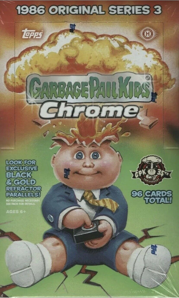 2020 Topps Garbage Pail Kids Chrome Series 3 Hobby Box - BigBoi Cards