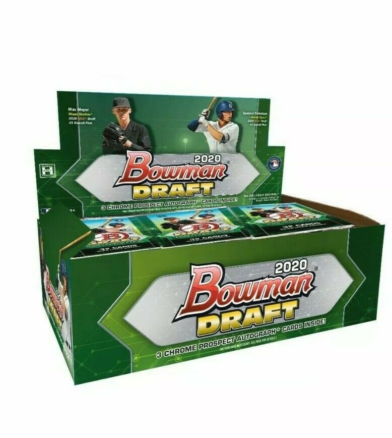 2020 Topps Bowman Draft Baseball Hobby Sealed Box - BigBoi Cards