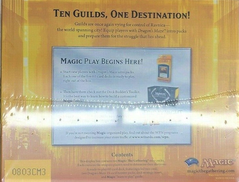 Magic the Gathering: Dragon's Maze 10 Packs Intro  Bundle Box - BigBoi Cards