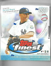 2019 Topps Finest Hobby Sealed Box