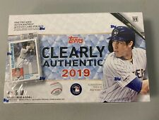 2019 Topps Clearly Authentic Baseball Hobby Box - BigBoi Cards