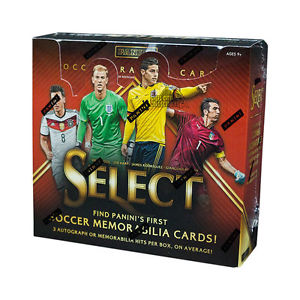 2015 Panini Select Soccer Hobby Box - BigBoi Cards