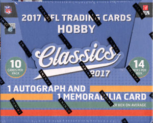 2017 Panini Classics Football Hobby Box - BigBoi Cards