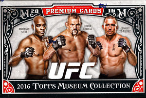 2016 Topps UFC Museum Collection Hobby Box - BigBoi Cards