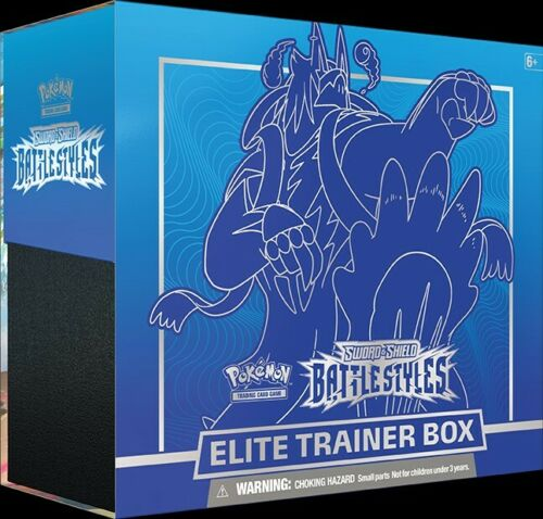 Pokemon Battle Styles  Gigantamax Rapid Strike Urshifu Elite Trainer Box (Pre Sale) - BigBoi Cards