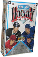 1991-92 Upper Deck NHL High Series Hockey Hobby Box - BigBoi Cards