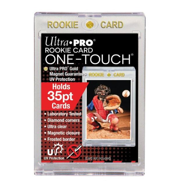 Ultra Pro UV ROOKIE ONE-TOUCH Magnetic Holder 35PT (Lot of 5) - BigBoi Cards