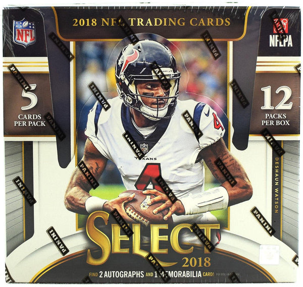 2018 Panini Select Football Hobby Box - BigBoi Cards