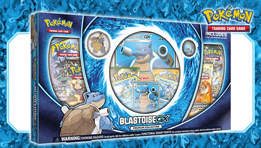 Pokémon TCG Blastoise-GX Premium Collection Box