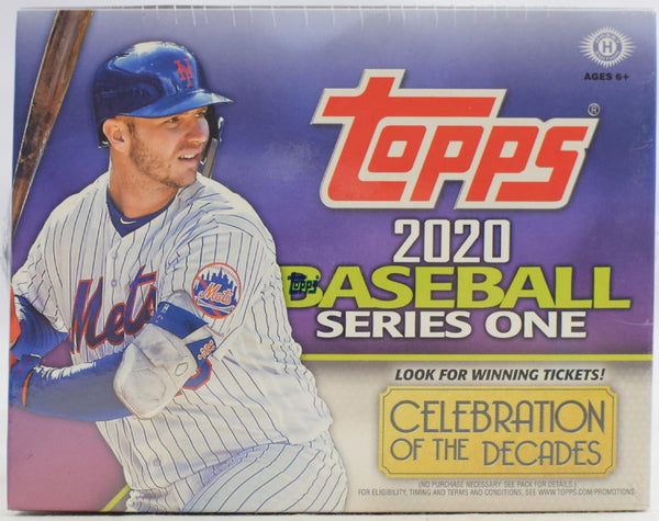 2020 Topps Series 1 Baseball Hobby Jumbo Box - BigBoi Cards