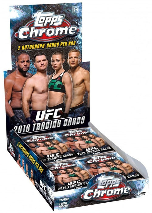 2018 Topps Chrome UFC Hobby Box
