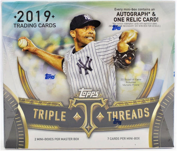 2019 Topps Triple Threads Baseball Hobby Box - BigBoi Cards