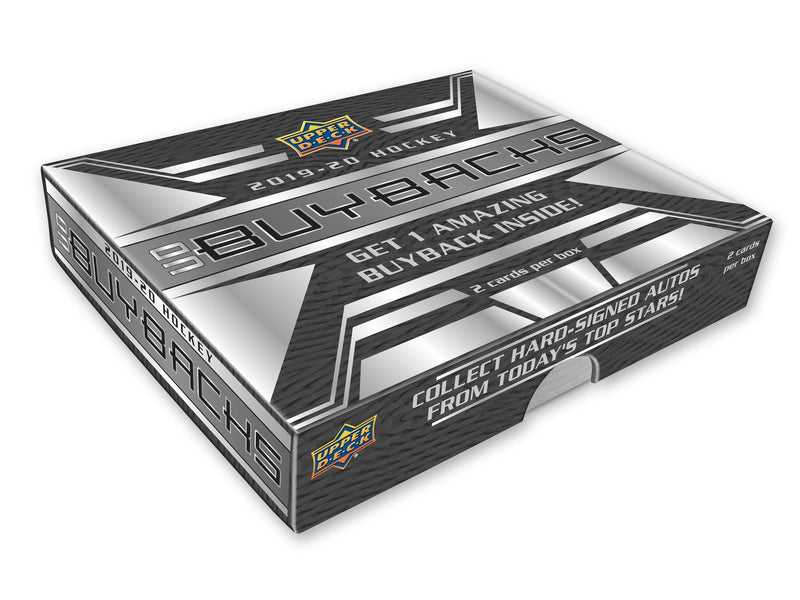 2019-20 Upper Deck Buybacks Hockey Hobby Box - BigBoi Cards