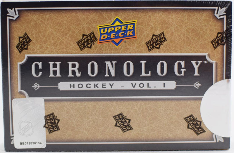 2018-19 Upper Deck Chronology Hockey Volume 1 Hobby Box - BigBoi Cards