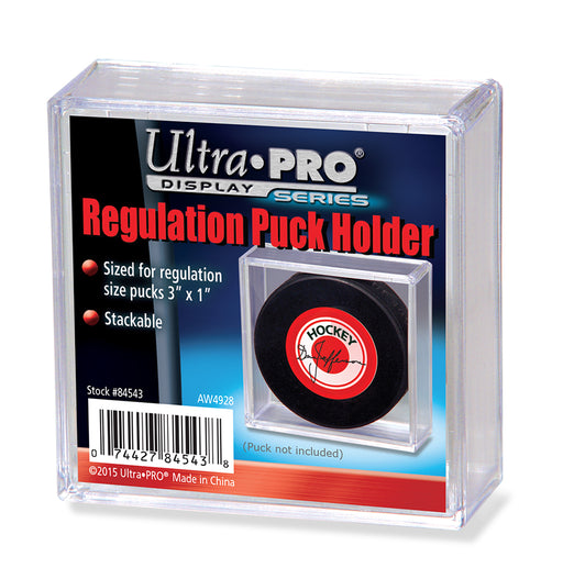 Ultra Pro Square Regulation Stackable Hockey Puck Holder (Lot of 5)