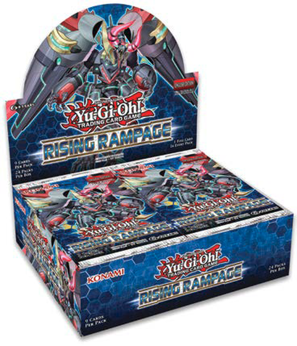 Konami Yu-Gi-Oh! TCG: Rising Rampage First Edition Booster Box - BigBoi Cards
