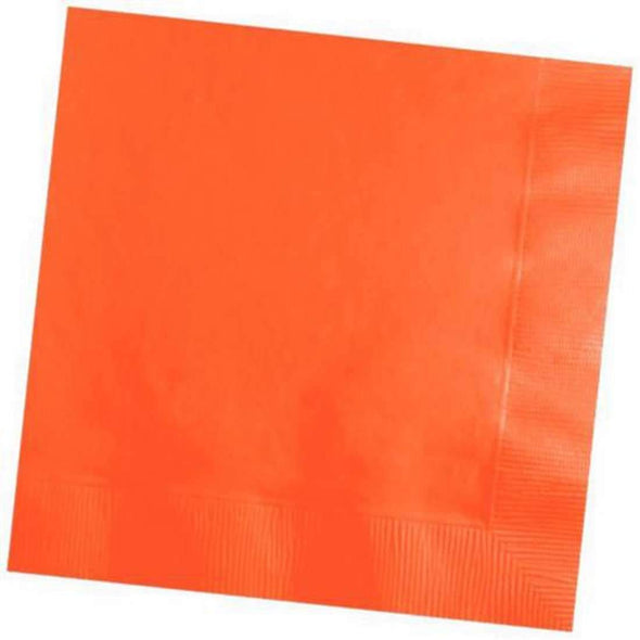 Sunkissed Orange Cocktail Beverage Napkins