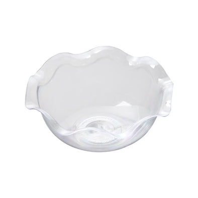 Clear Flower Disposable Plastic Dessert Cups