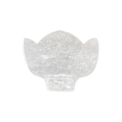 Clear Disposable Plastic Lotus Cups