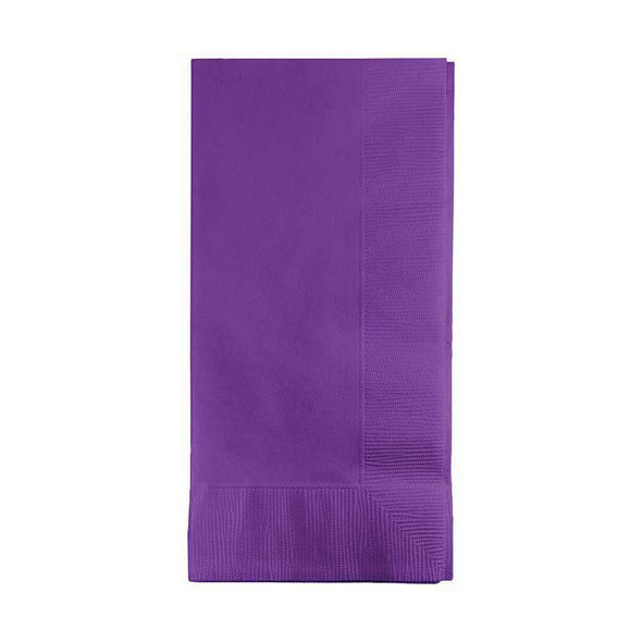 Amethyst Disposable Paper Dinner Napkins