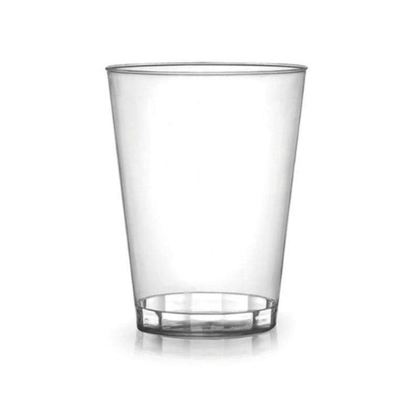 Clear Savvi Serve Plastic Disposable Tumblers