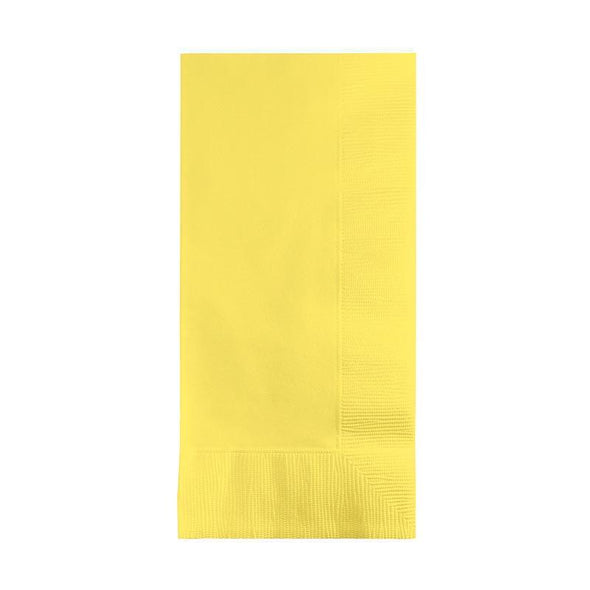 Mimosa Yellow Paper Dinner Napkins