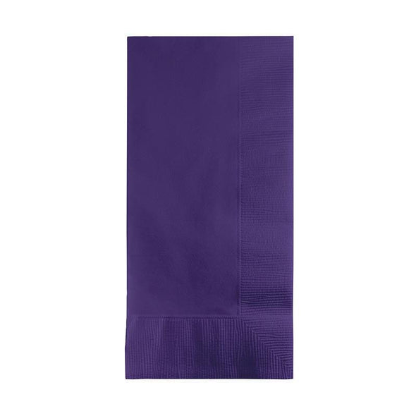 Purple Paper Dinner Napkins