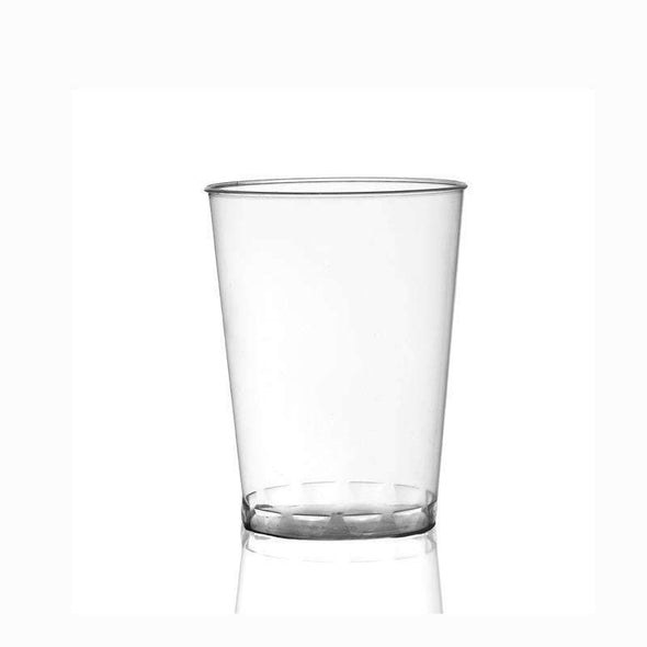 7 oz. Clear Round Plastic Cups