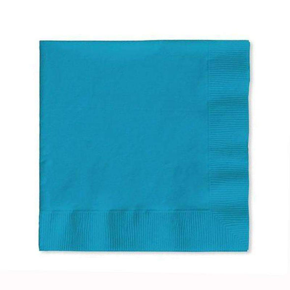 Turquoise Disposable Paper Wedding Cocktail Napkins