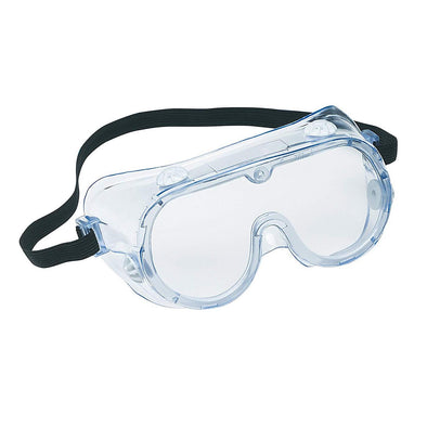 Clear Lens Wide-Vision Adjustable Anti-Fog Protective Safety Goggles