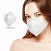 5 pieces KN95 Disposable Protective Face Mask with Adjustable Soft Ear Loops and 5-Layer Filter