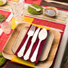 Silhouette Palm Leaf Eco-Friendly Disposable Dinner Knives