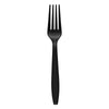Black Plastic Disposable Forks
