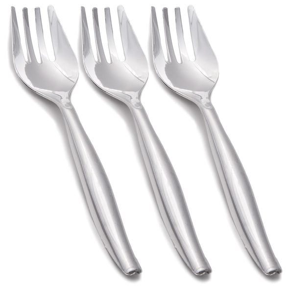 Clear Disposable Plastic Serving Forks