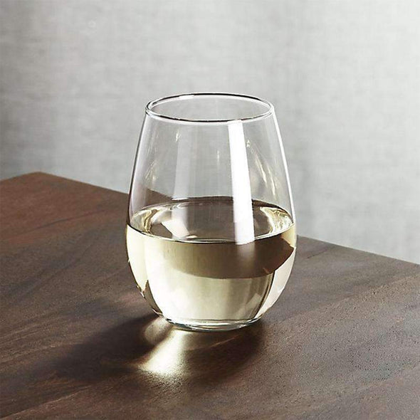 Clear Stemless Disposable Plastic Wedding Mini Goblets