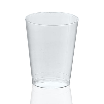 10 oz. Clear Round Plastic Cups
